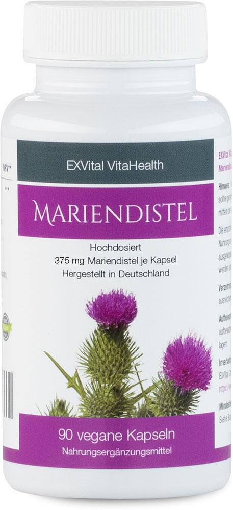 Mariendistel Extrakt - 80% Silymarin Anteil, hoch konzentriert von EXVital Vi...