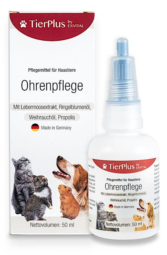 Ohrenpflege fr Hunde, Katzen & Kleintiere