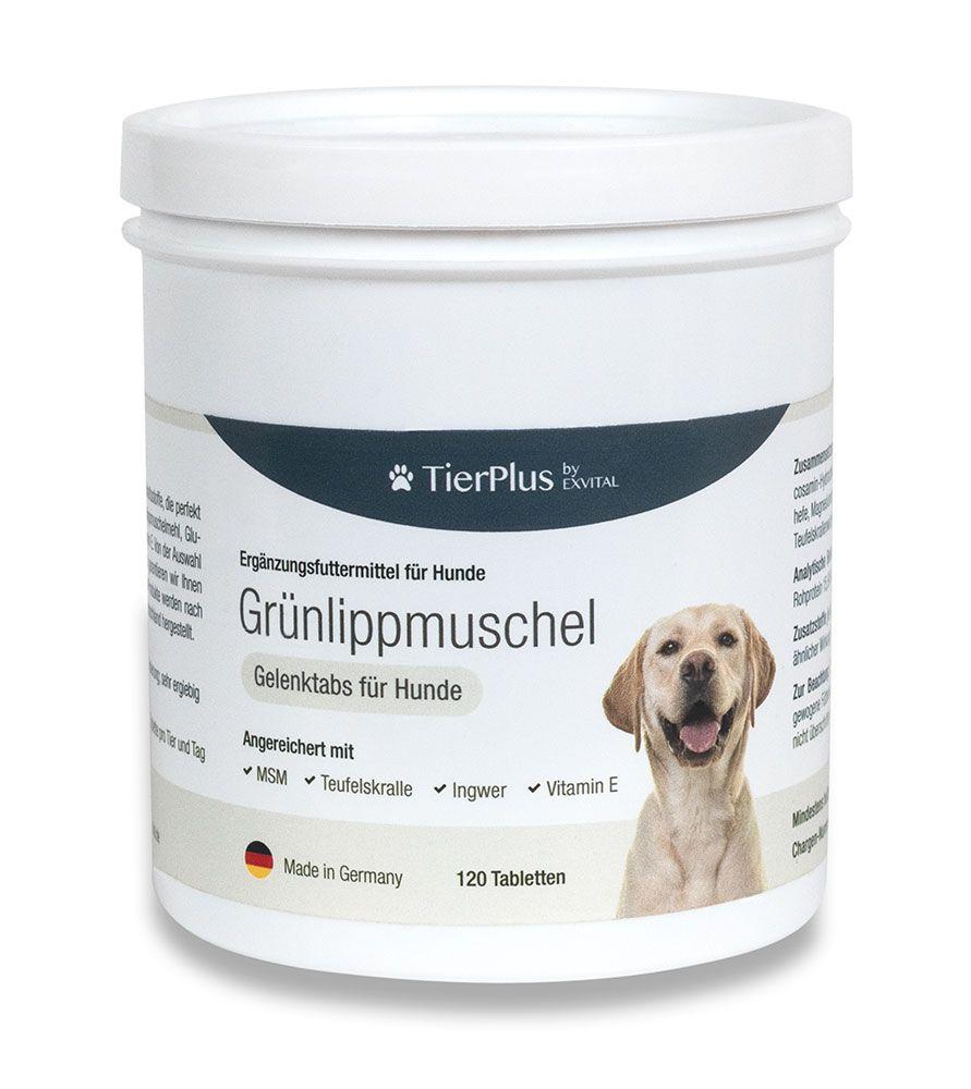 Grnlippmuschel Plus - Gelenktabletten fr Hunde