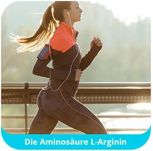 L-Arginin-Laufen