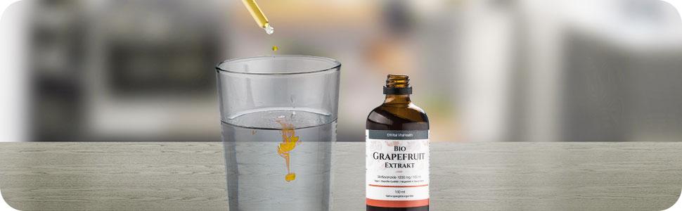 Grapefruitextrakt-tropfen